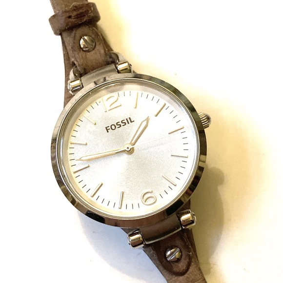 Fossil Jewelry - FOSSIL Leather Watch